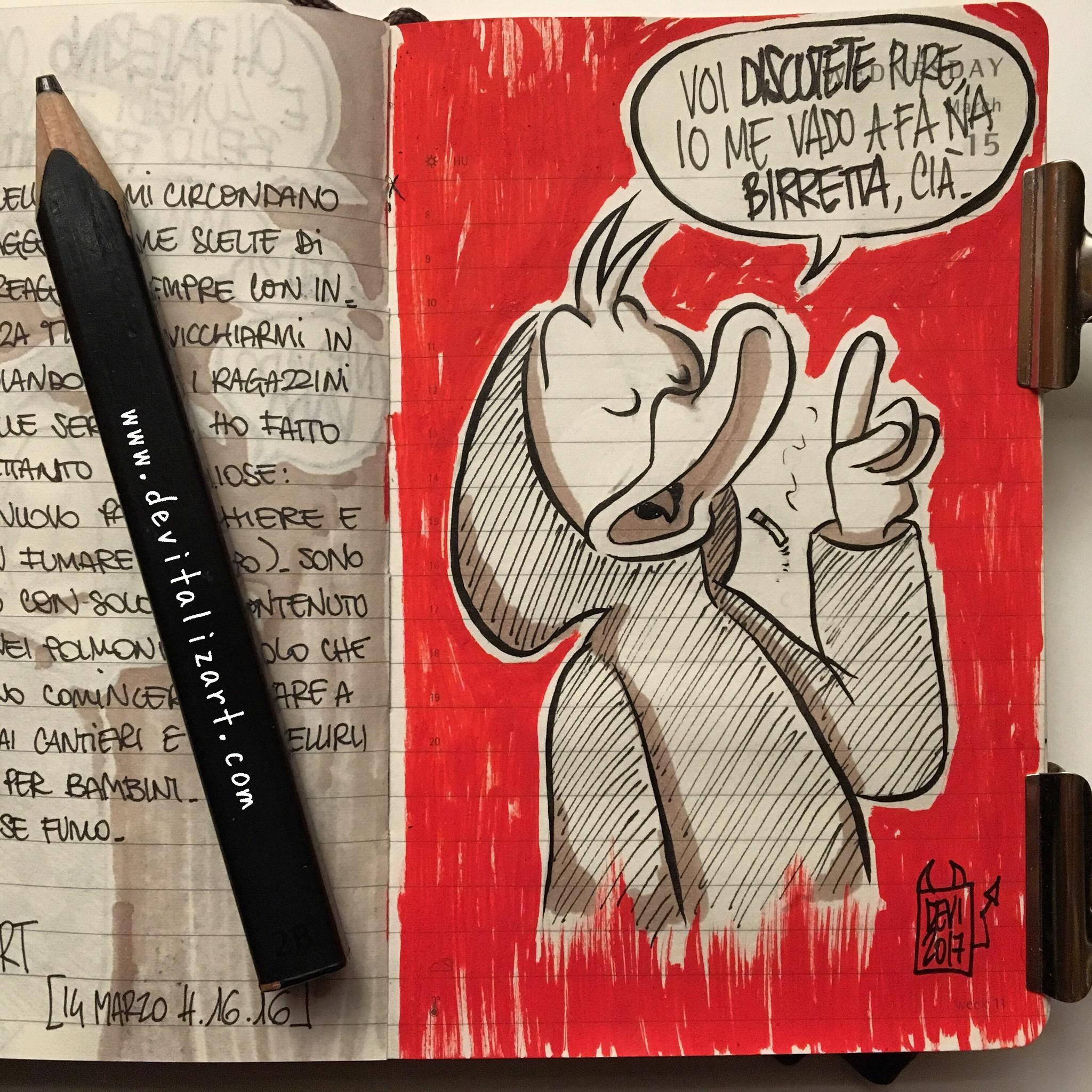 Topolino è rimasto a discutere, sicuro. (Sketchino della notte, reference @topolinomagazine ❤)